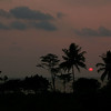 Sunset over the Gulf of Thailand near Trat