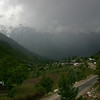 A storm followed us up the beautiful road from Srinagar to Sonamarg, Kashmir