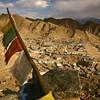 The old city of Leh, capital of Ladakh