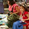 Selling hats in Keng Tung, Burma