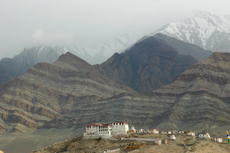 A Buddhist monastery in the Indus Valley, Ladakh