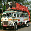 This bus in eastern Burma looked like it was all set for a serious expedition