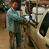 I was fascinated to discover that in this part of Burma, gasoline is dispensed from large plastic containers