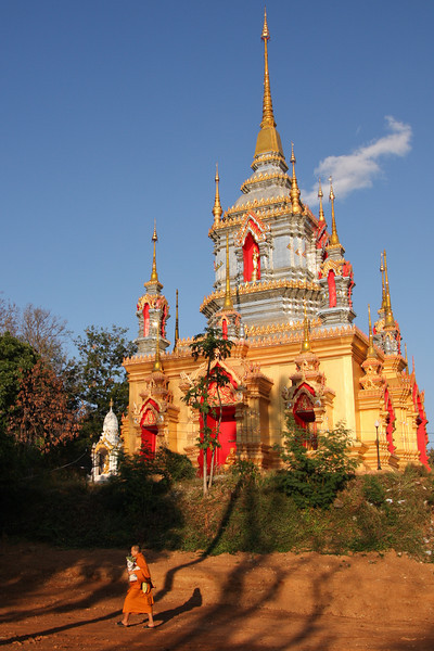 A Buddhist temple in northern Thailand