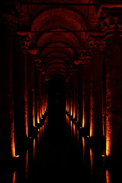 This other-worldly cistern underneath Istanbul was built in 532 AD to provide water to the Byzantine palace. Despite its immense size (it could swallow a football field whole), it was lost to memory for centuries. Eventually it was rediscovered by chance in the 16th century.