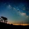 Off Highway 1 under Milky Way
