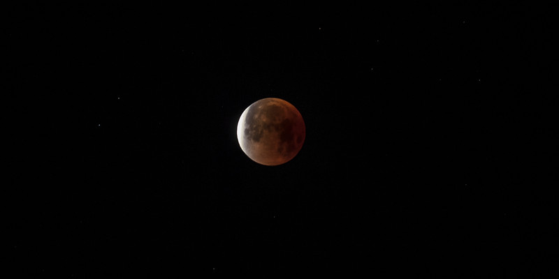 Super Blood Moon Eclipse, jan 31, 2018, 6.15 am
