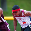 Taj-Amir Torres motored to a 10.79 win in the 100m at the State Coaches Invitatinal.