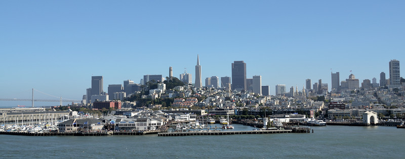 San Francisco skyline,  California.