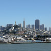 San Francisco skyline,  California.