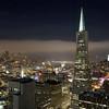 San Francisco, California. From Mandarin Oriental Hotel.