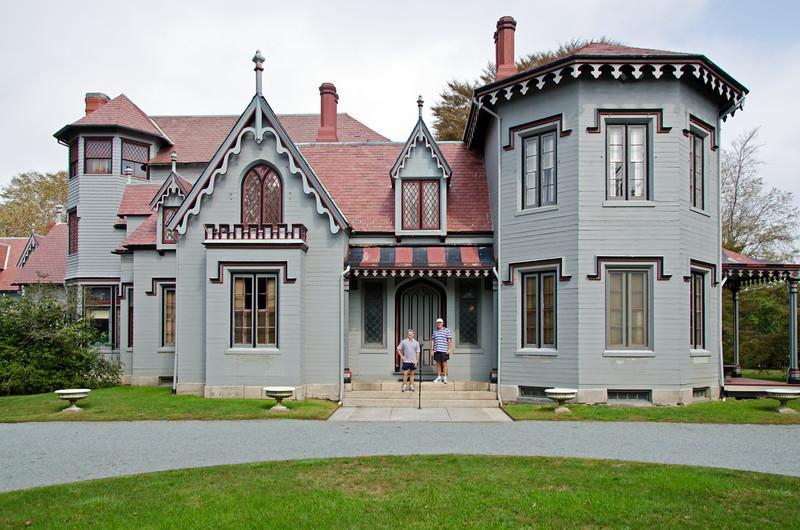 Kingscote 1841, Newport,  Rhode Island.