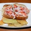 Maine Lobster Roll, Bar Harbor, Maine.