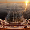 At sea sunrise Crystal Symphony