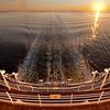 At sea sunrise Crystal Symphony