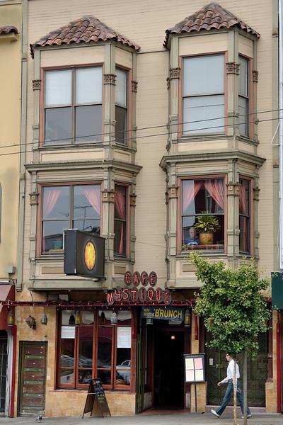 Cafe Mystique, Castro, San Francisco.