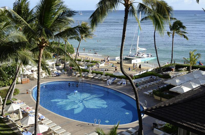 Halekulani Hotel, Waikiki. Hawaii