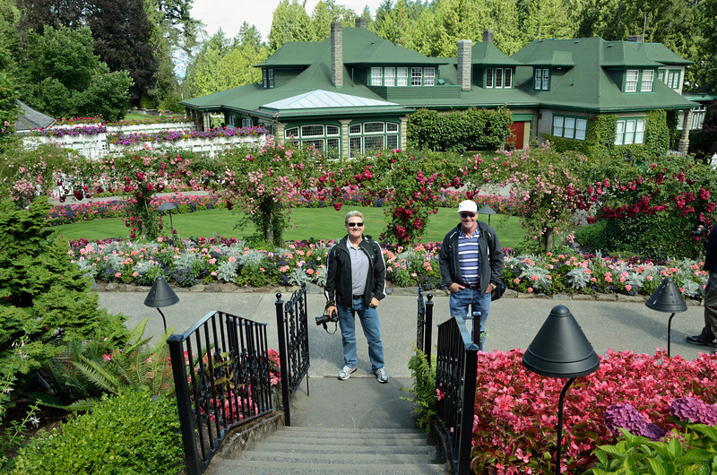 Butchart Gardens, Victoria, Canada.<br /> Fifty-five acres of stunning floral show gardens and a National Historic Site of Canada.