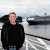 Gary, Sitka, Alaska. Oosterdam cruise ship.
