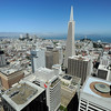 San Francisco,  California.<br /> Taken from Mandarin Oriental Hotel.