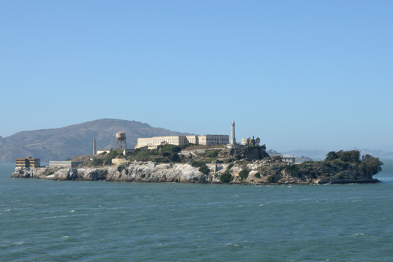 Alcatraz Island, San Francisco, California.