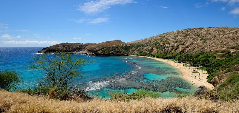 Hanauma Bay Nature Preserve, Honolulu.