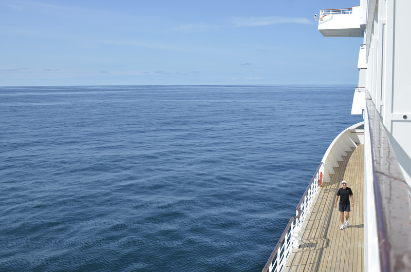 At sea on route to Victoria, Canada.