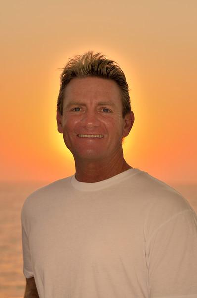 Gary At Sea Mexico sunrise