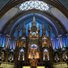 The Notre-Dame Basilica in Montreal Canada