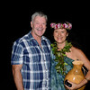 Peter with former Miss Hawaii Kanoe Miller.<br /> Halekulani Hotel, Waikiki.