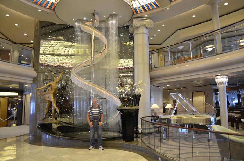 Crystal Symphony Atrium