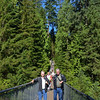 Capilano Suspension Bridge, Vancouver.