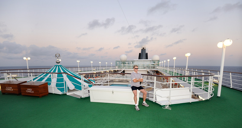 At sea near Miami Florida