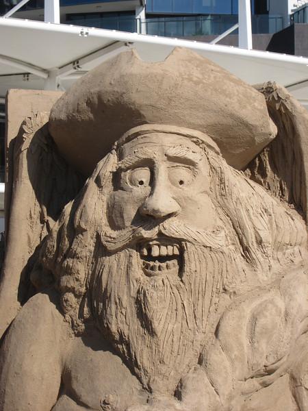 Australian Sand Sculpting Championships 2012, Surfers Paradise, Gold Coast, Queensland.