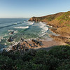 Whites Beach, and Jews Point, Broken Head Nature Reserve.