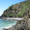 Part of Brays Beach. A beautiful secluded beach. Located at Broken Head Nature Reserve just south of Byron Bay New South Wales.