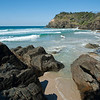 Whites Beach, Beautiful secluded beach located at Broken Head just south of Byron Bay.