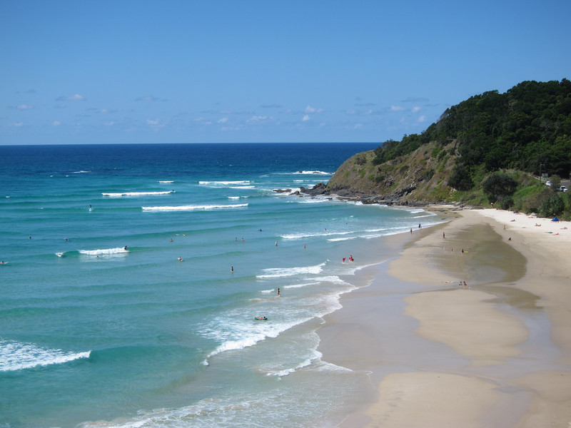 Wategos Beach, Byron Bay.