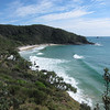 Brays Beach. A beautiful secluded beach. Located at Broken Head Nature Reserve just south of Byron Bay New South Wales.