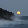 Moonrise, Seven Mile Beach, New South Wales.