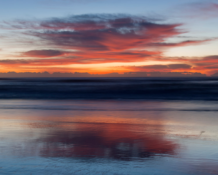 Seven Mile Beach sunrise, New South Wales.