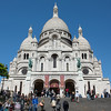 The Basilica of the Sacred Heart of Paris France
