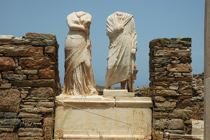 Delos near Mykonos, Greece.
