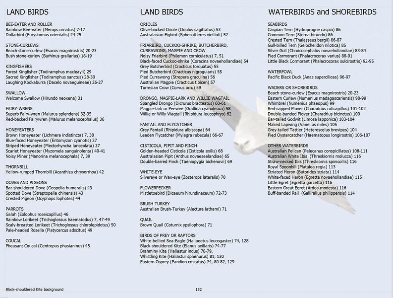 Federation Walk Bird Index in Groups