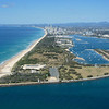 Aerial image. Federation Walk, The Spit, Gold Coast, Queensland.<br /> Image taken 20th August 2013.