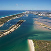 Aerial images The Spit, Gold Coast.