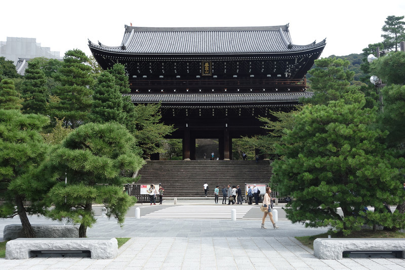 Sanmon of Chion-in Buddhist temple (Japan's national treasure), Kyoto, Kyoto Prefecture, Japan.