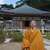 Priest, Mt. Maya Tenjoji Temple, Kobe, Japan.