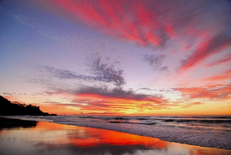 Sunshine Beach sunset, Sunshine Coast, Queensland.