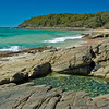 Noosa National Park, Sunshine Coast, Queensland.